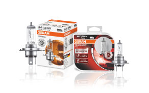 Halogen headlight lamps