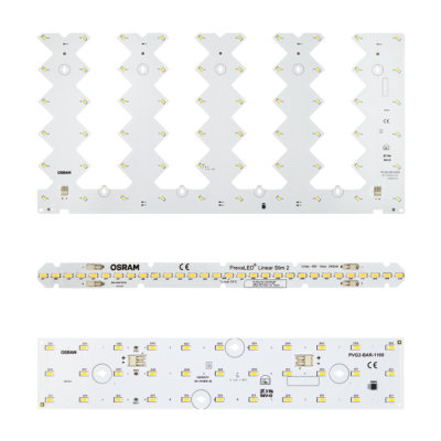 Light Engine e Moduli LED per apparecchi lineari e quadrati