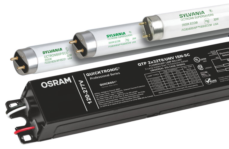 QUICKTRONIC T8 Instant Start QTP4X32T8/UNV-I | OSRAM DS on