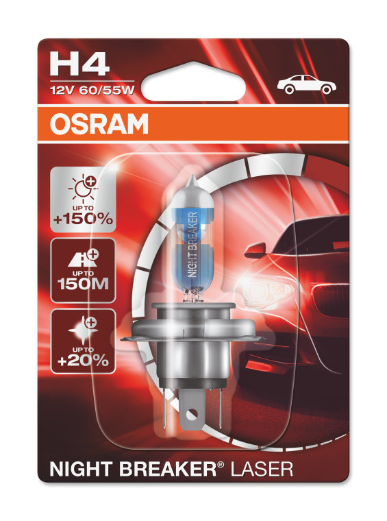 night breaker laser h4 osram automotive. Black Bedroom Furniture Sets. Home Design Ideas