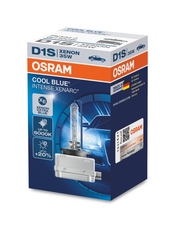 d1s osram cool blue intense 6000k