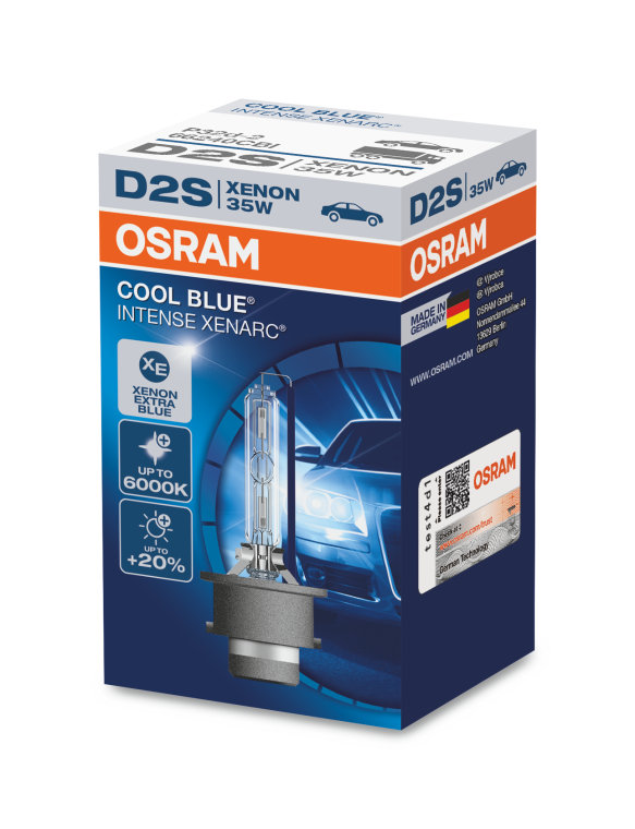 xenarc cool blue intense d2s osram automotive. Black Bedroom Furniture Sets. Home Design Ideas